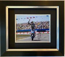 JORGE MARTIN HAND SIGNED FRAMED PHOTO DISPLAY GRESINI RACING MOTO3, MOTOGP.