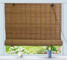 """Bamboo Roll Up Window Blind Sun Shade W42"""" x H72"""""""