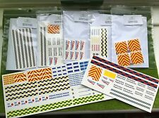 Waterslide Decals/Transfers Code 3- Large Pack- Network Rail, Police, Ambulance