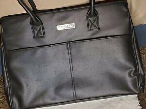 MARY KAY TRAVEL TOTE LARGE BLACK PURSE STARTER KIT CONSULTANT BAG/CASE