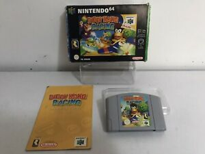 Diddy Kong Racing N64 Nintendo 64 Vintage Video Game complete boxed With Manual
