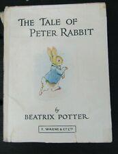 "Vintage Beatrix Potter,""The Tale of Peter Rabbit "" F. Warne & Co L"