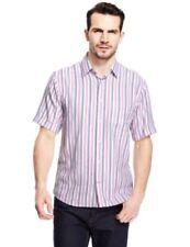Marks and Spencer Machine Washable Singlepack Formal Shirts for Men