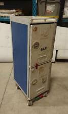 Aircraft Galley Cart Airplane Food Cart Service Trolley BLUE