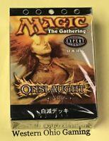 Magic The Gathering Onslaught Japanese Ivory Doom Theme Deck NEW MTG White Black