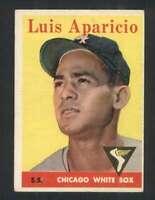 1958 Topps #85 Luis Aparicio EX/EX+ White Sox 121793