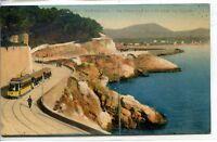CP 13 Bouches-du-Rhône - Marseille - La Corniche et vue vers la Plage - Tramway