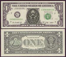 USA - VERITABLE Billet 1 DOLLAR - FRANC-MACONNERIE - FRANC MACON - V2 - NEUF