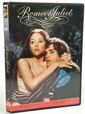 Romeo and Juliet (DVD, 1968) Olivia Hussey, Franco Zeffirelli,  Widescreen