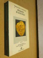 DIZIONARIO DI ARCHEOLOGIA Warwick Bray David Trump Mondadori Oscar 19 libro di