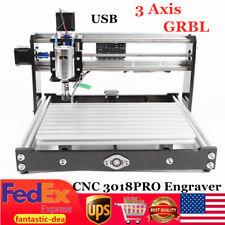 Cnc 3018 Router Kit 3 Axis Engraving Machine Grbl Control Usb Diy Wood Engraver