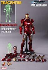 Ready! Hot Toys Avengers Iron man Mark VII 7 Robert Downey Tony 1/6 Special