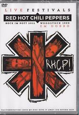 DVD 2 SHOWS  RED HOT CHILI PEPPERS GERMANY 2012 / WOODSTOCK 1999  NEW & SEALED