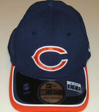 New Era Hat Cap NFL Football Chicago Bears New Era On-Field 39THIRTY Flex L/XL