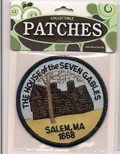 House of Seven Gables Salem Massachusetts Souvenir Patch  Nathaniel Hawthorne