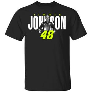 Men's Team Collection Jimmie Johnson Men's Black Legacy T-Shirt S-3XL