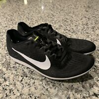 Nike Zoom Matumbo 3 Distance Racing Shoes Spikes Black Size 11.5 835995 017  NEW