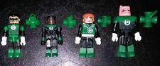"""Minimates DC C3 """"GREEN LANTERN (x4) STEWART, JORDAN, PIG, GARDNER"""""""