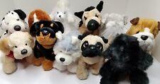 Webkinz Plush Dog Pug, Dalmatian, Shepherd, Schnauzer Rottweiler, Poodles & more