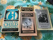 Lot of 4 Books on Biblical Child Training/Rearing