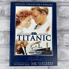 Titanic: Special Collector's Edition (DVD, 2005, 3-Disc Set) Box Set