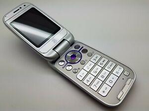 Good Condition Sony Ericsson Z750i Purple (3 Network) Mobile Flip Phone