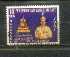Malaysia Malaya 1961 Installation of  Sultan Selangor B