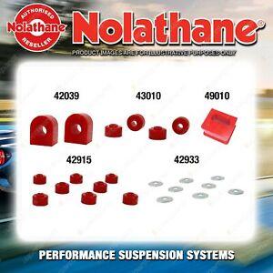 Front Nolathane Suspension Bush Kit for HOLDEN E SERIES EK EJ EH 1961-1-1965