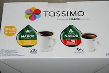 84 T-Discs, Tassimo Nabob Coffee, Variety Pack, Extra Large, 100% Arabica caffe
