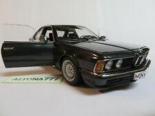 AUTOart Millennium 1/18 BMW 635 CSi BLACK with Mud Guards DIECAST CAR MODEL Rare