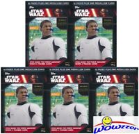 (5) 2016 Topps Star Wars the Force Awakens Series 2 Blaster Box-5 MEDALLIONS