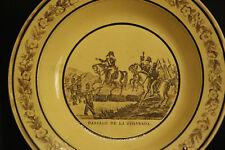 assiette Creil et Montereau, XIXème / plate Creil & Montereau, 19th