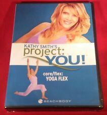 Kathy Smith's Project: You! - Core/Flex: Yoga Flex (DVD, Brand New)