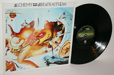 RARE Australian 2 X LP Vinyl DIRE STRAITS LIVE ALCHEMY G/F spaceship 1984 NM/EX