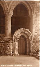 Scotland - Iona Cathedral, The Sacristy Door - Vintage Postcard