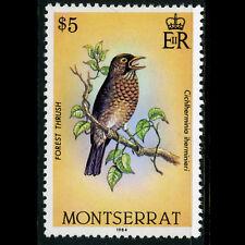 MONTSERRAT 1984 $5 Bird. SG 612. Mint Never Hinged. (AX220)