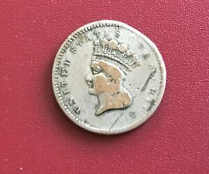1856 One Dollar Coin...Not sure of origin...being sold as a collectable