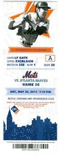 2013 Mets vs Braves Ticket: Mike Minor Win 10 Ks & HR for his 1st 2 RBIs