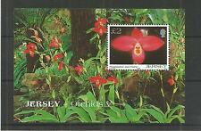 JERSEY 2004 ORCHIDS 5TH SERIES MINISHEET SG,MS1149 UM/M N/H LOT R360