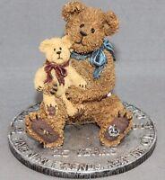 Boyd's Bears & Friends Bearstone Collection Elder & Newton Bestest Friends 2004