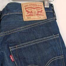 LEVI'S Mens Size ( 34 x 30 ) / 501 Original Fit Denim Jeans - Aus Seller