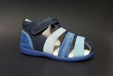 Brand New $70 KICKERS Toddler Boys LEATHER Sandals Fashion Size 7 USA/23 EURO