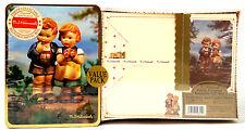 Hummel Goebel Metal Gift Box 30 Stationery 15 Envelopes 8 Folded Notes #220 Nice