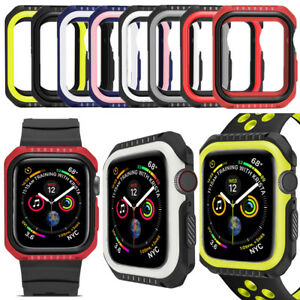 Protective Case Accessories Cover Shell Bumper For Apple Watch Series 4 40/44mm