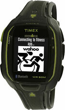 Timex Masculino Ironman Run X50 TW5K88000 Preto relógio esportivo quartzo de poliuretano