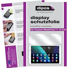 2x Huawei MediaPad T1 10 Zoll Schutzfolie Folie klar Displayschutzfolie dipos