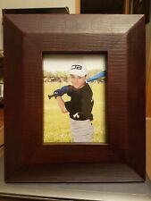 """Jay Strongwater Sneak Leather Frame 5""""x7"""" Photo"""