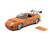 1:24 Jada Fast & Furious Brian's Toyota Supra Orange
