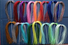 15  Pack 15 Color Crystal Krystal Flash For Fly Tying Lure Making - -Item In USA