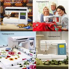4 Husqvarna Viking Designer 1 2 Quilt Service Manual & Parts Shop Repair I II CD